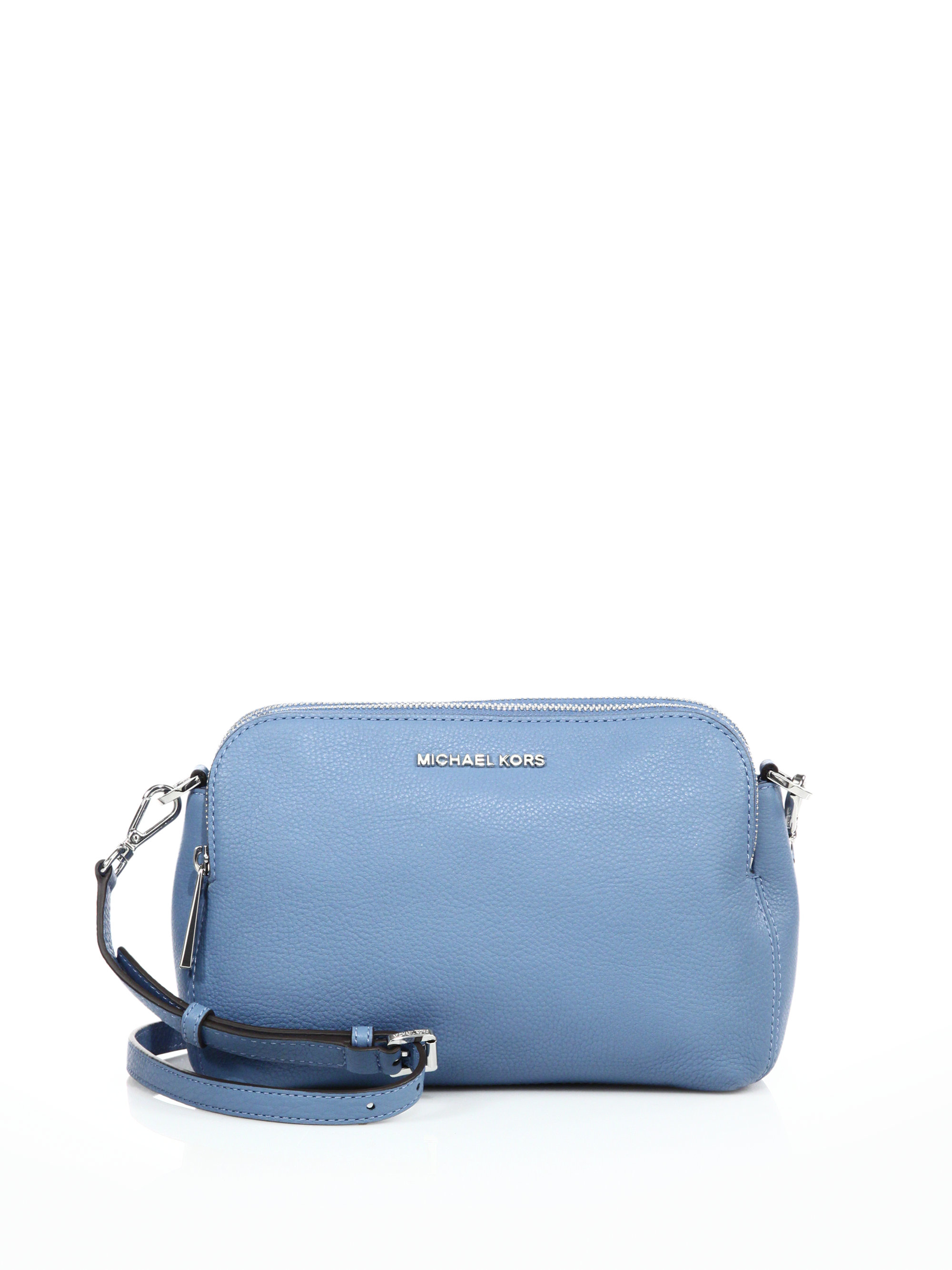 fd6999439b61 MICHAEL Michael Kors Bedford Medium Double-zip Leather Messenger Bag ...