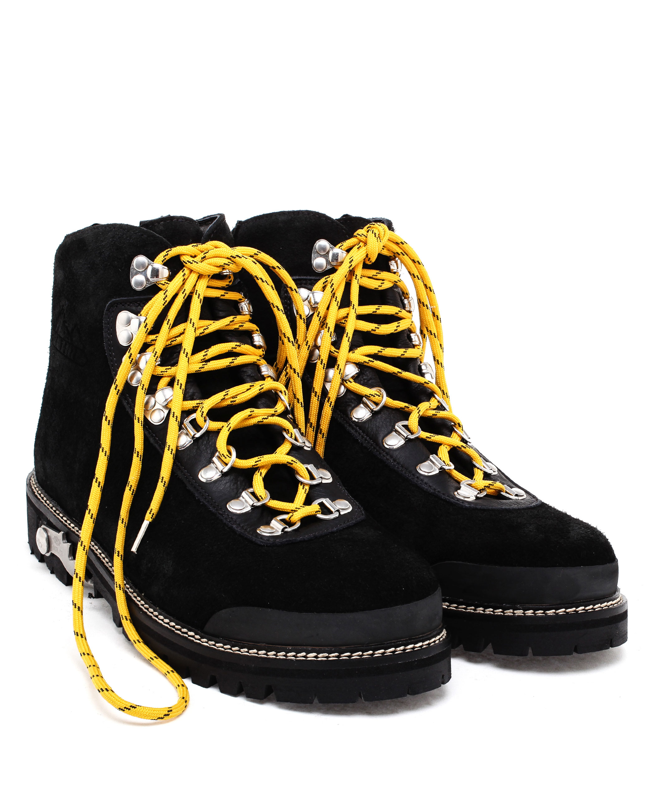 771cfb307a21 Lyst - Off-White c o Virgil Abloh Suede Hiking Boots in Black