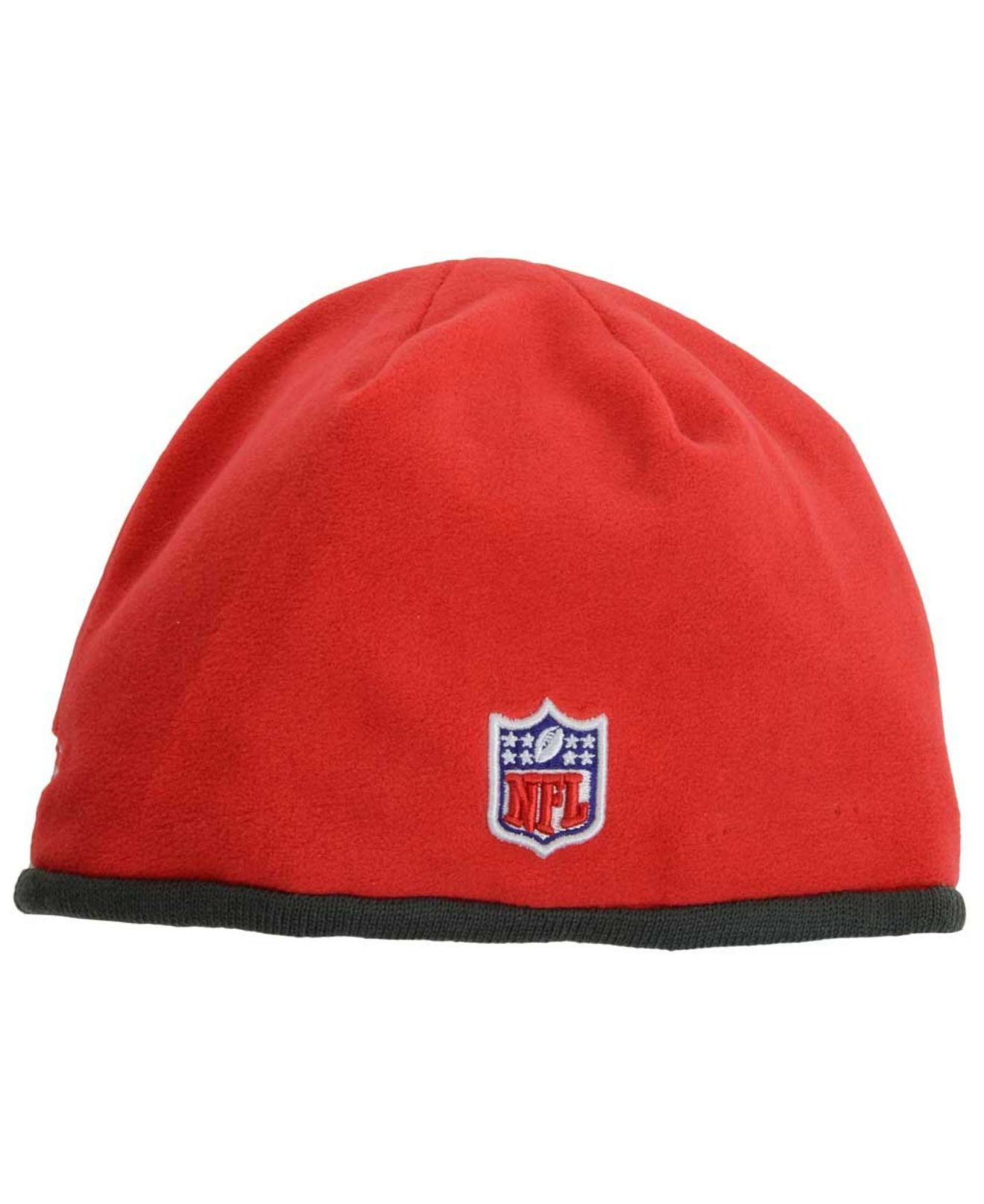 newest 08beb 13139 Lyst - KTZ Tampa Bay Buccaneers Tech Knit Hat in Red for Men