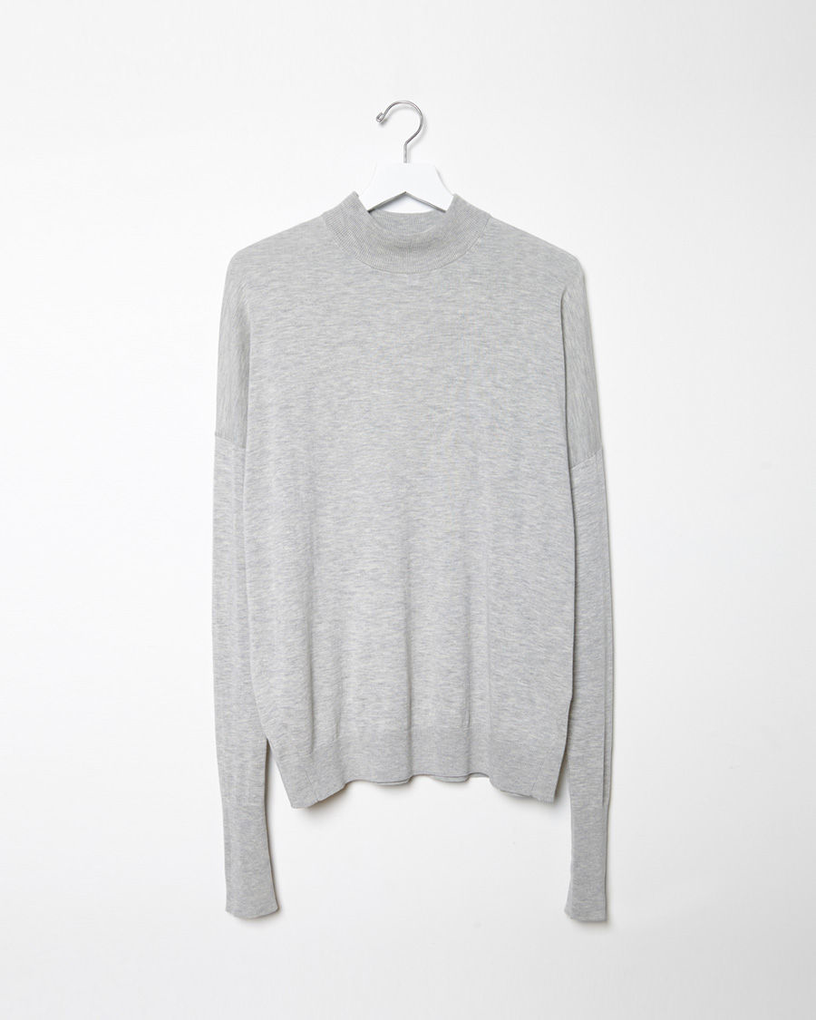 acne studios marvin pullover in gray lyst. Black Bedroom Furniture Sets. Home Design Ideas