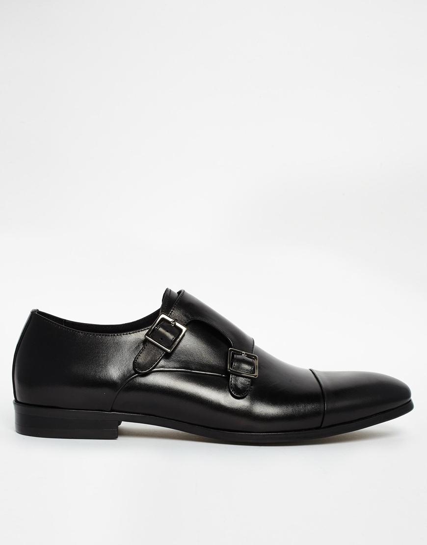 Chaussures Moine Dune En Cuir Noir - Noir xwESEGkyn
