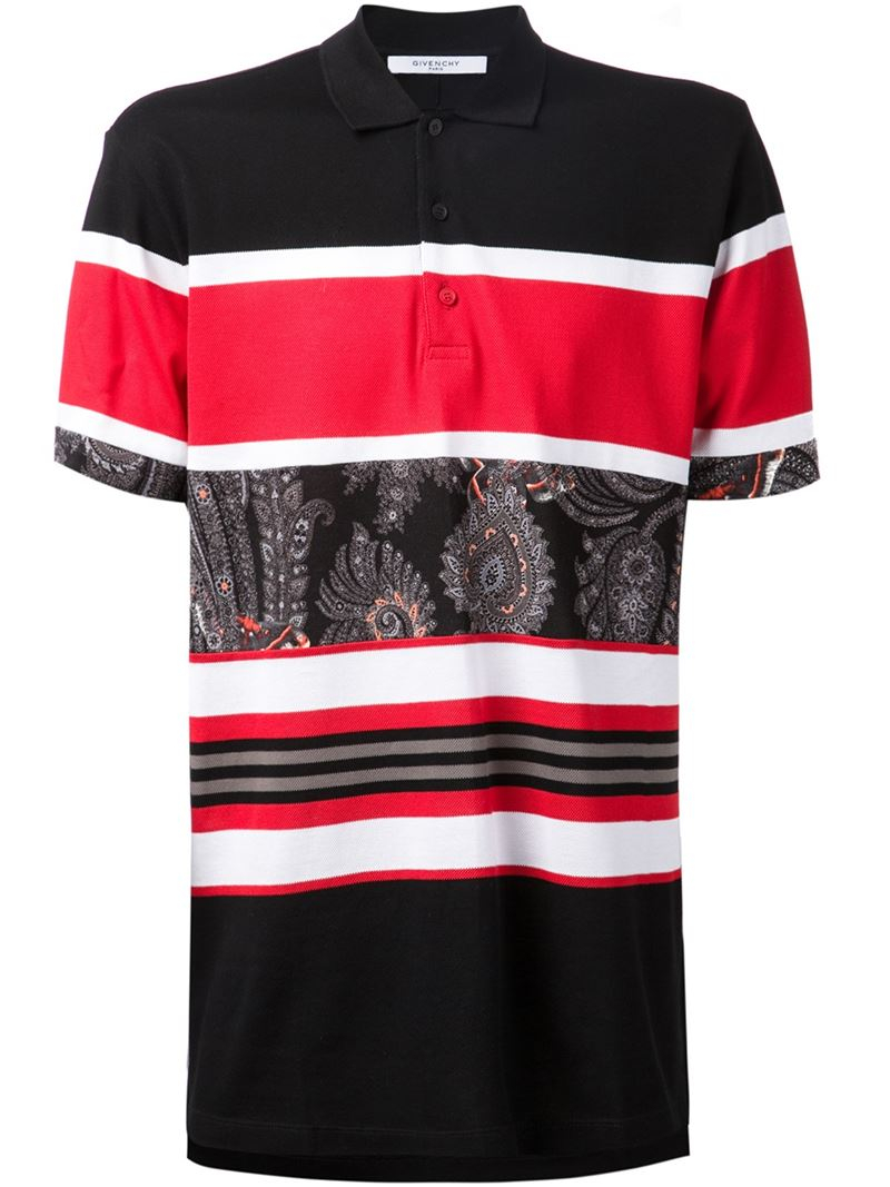 1e9bd3088e Red White And Black Polo Shirts - DREAMWORKS