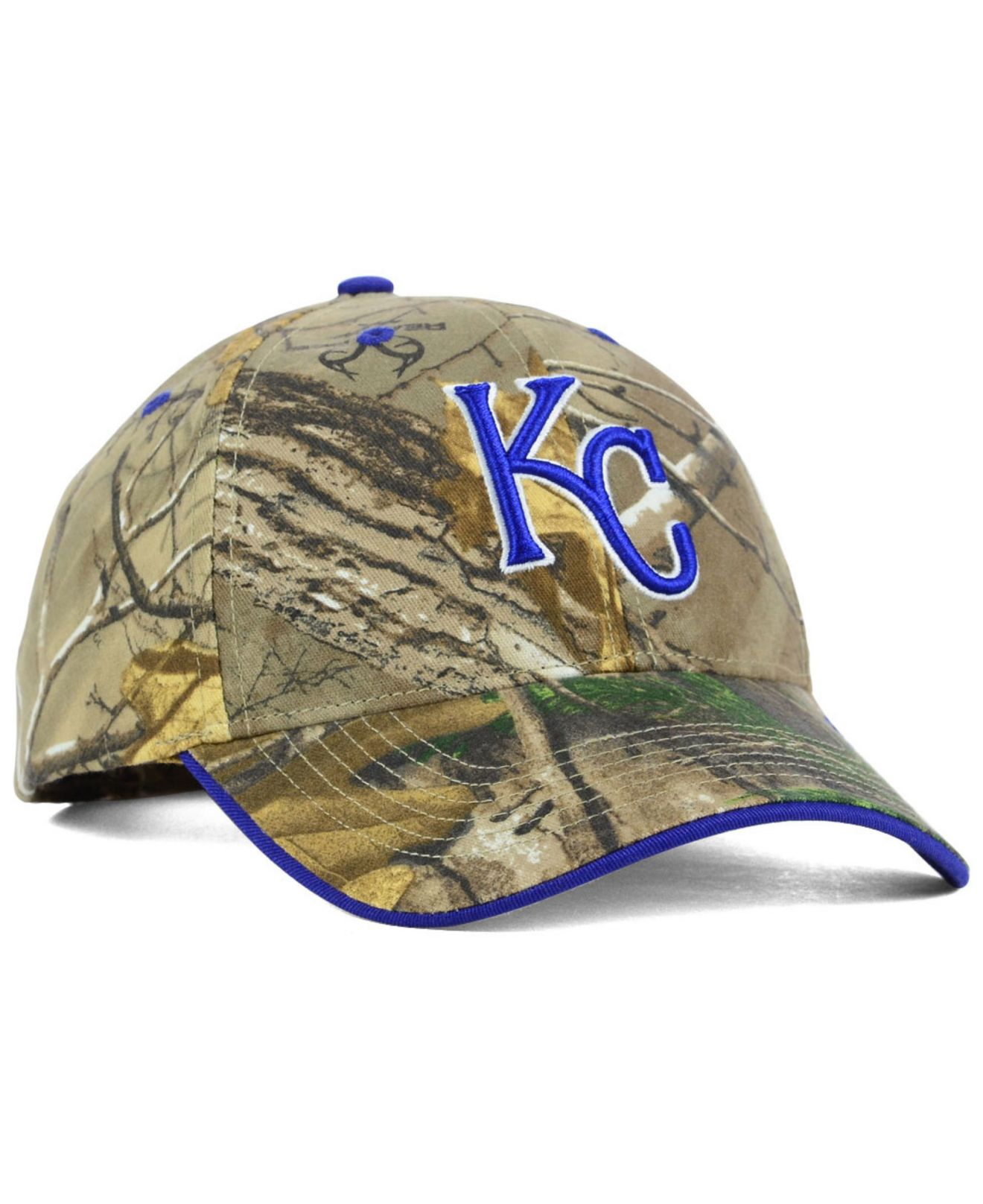 Lyst - 47 Brand Kansas City Royals Real Tree Frost Cap in Green for Men c63298dc375