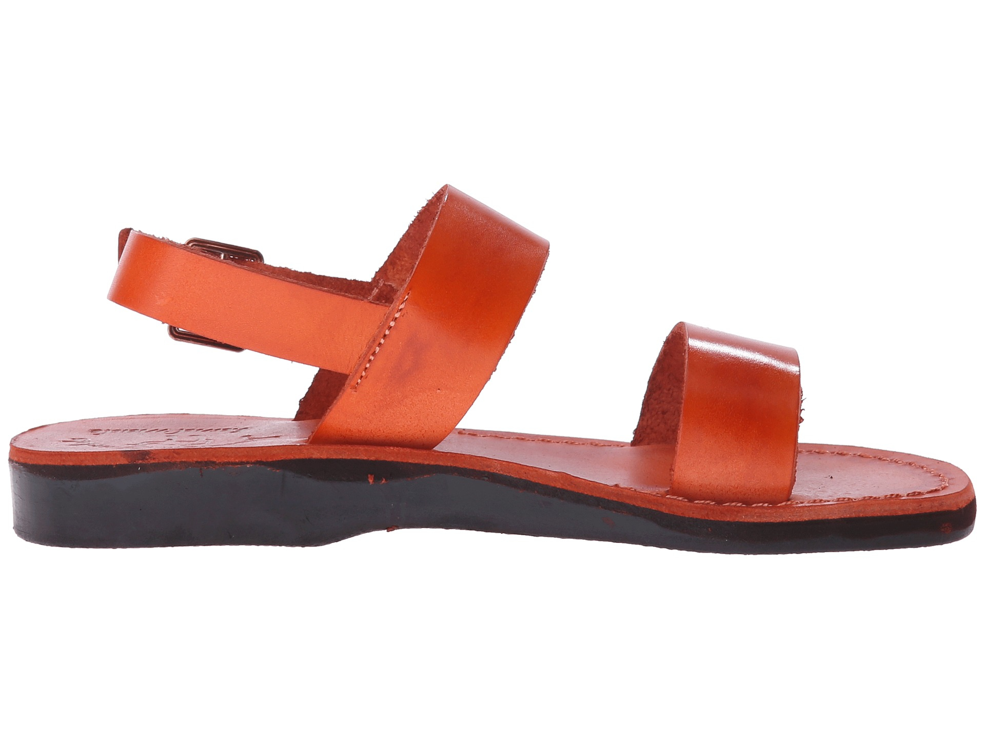 Jerusalem Sandals Golan Womens In Orange Lyst