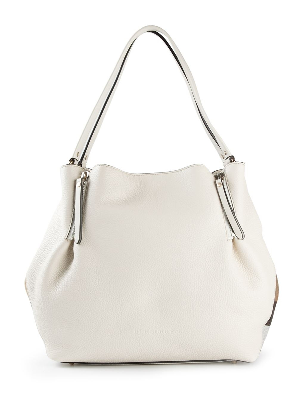 Lyst - Burberry Maidstone Tote in White