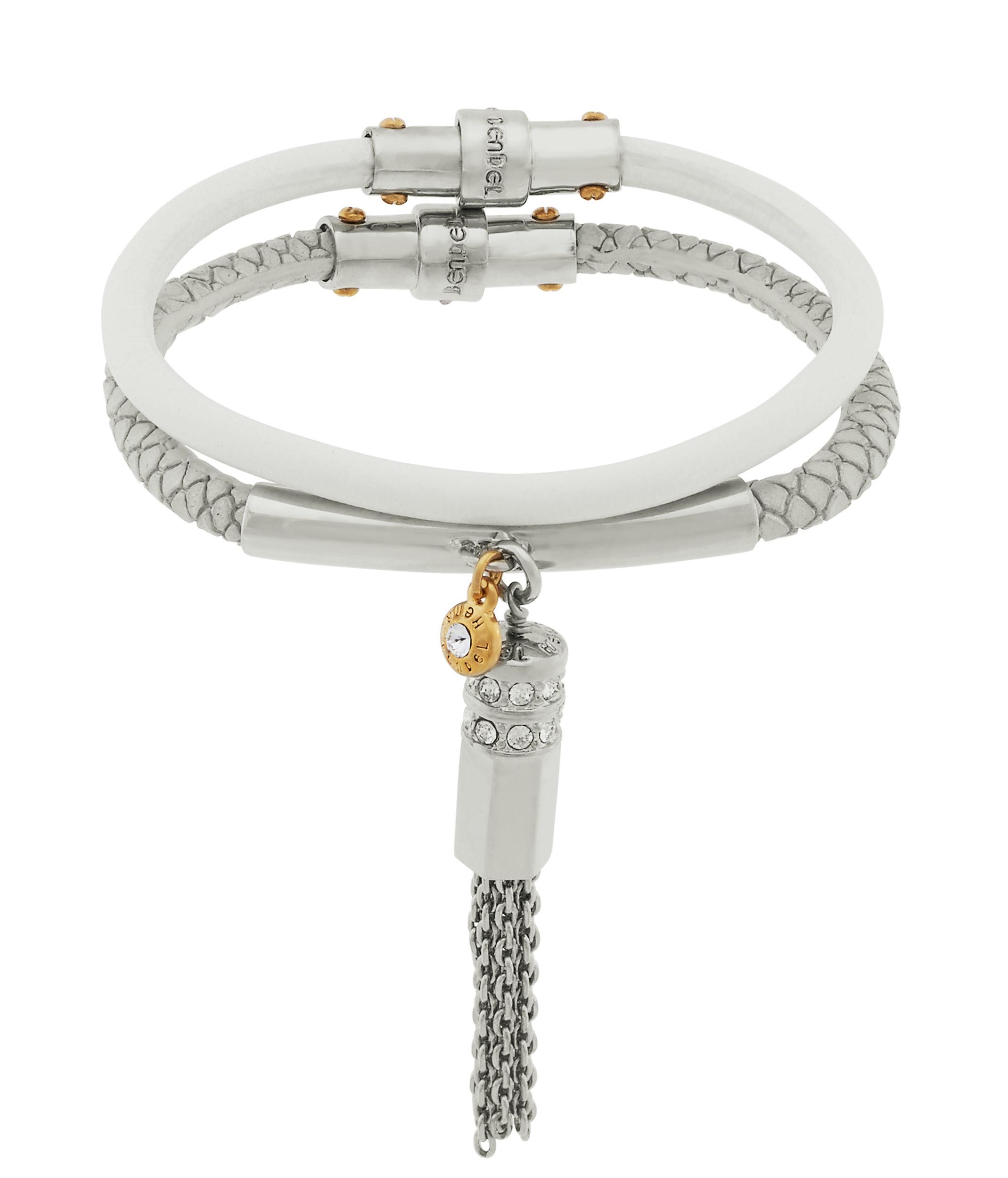 ec0bfc56a30c6 Lyst - Henri Bendel Double Charm Bracelet Set in Metallic