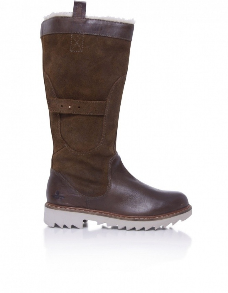 J Shoes Husky Fur Boots In Brown | Lyst