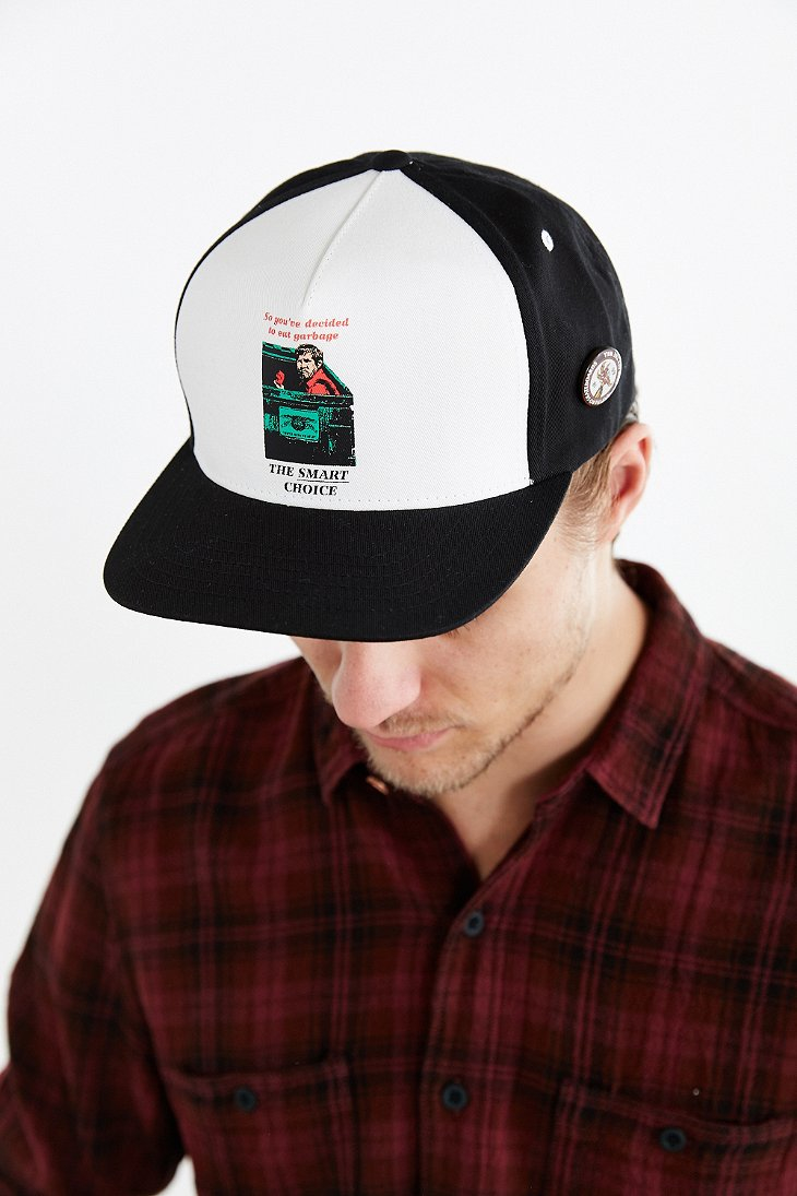 Lyst - Vans X Antihero Snapback Hat in Black for Men f9ec6dff8f6d