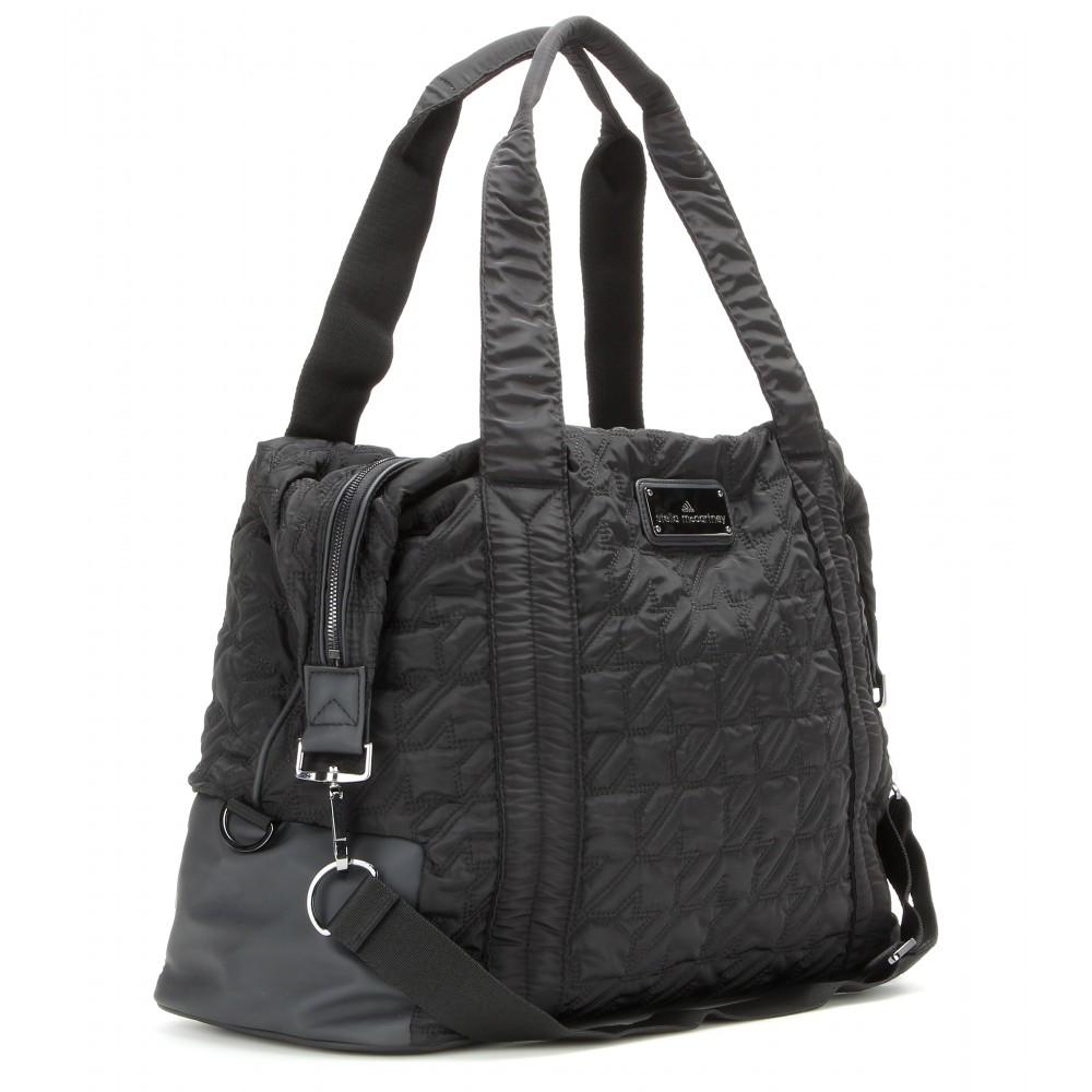 Lyst - adidas By Stella McCartney Quilted Gym Bag in Black 0c88bb16e4