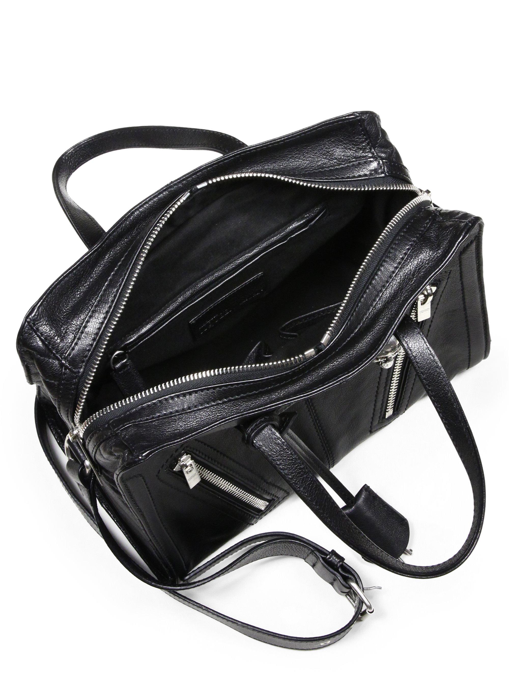 Monogram Small Zip-around Satchel Bag, Gray