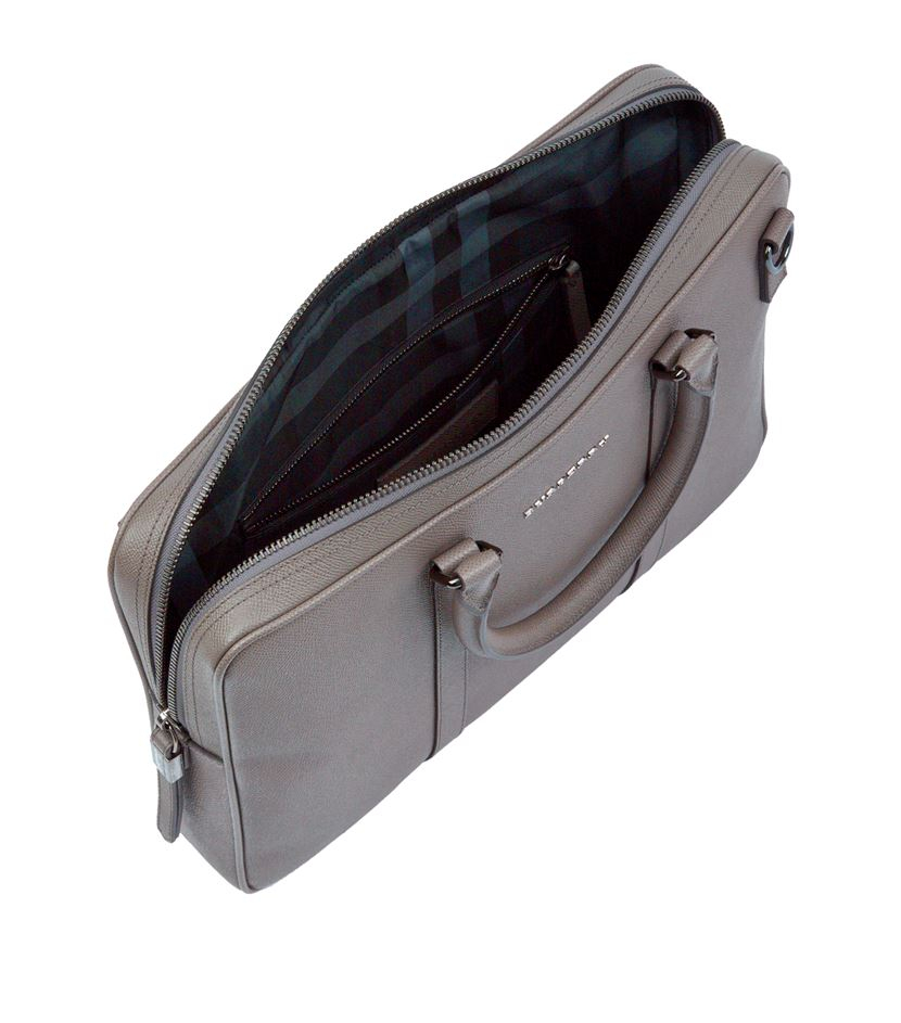 5a0855362b26 Burberry Newburg Small Briefcase in Metallic for Men - Lyst