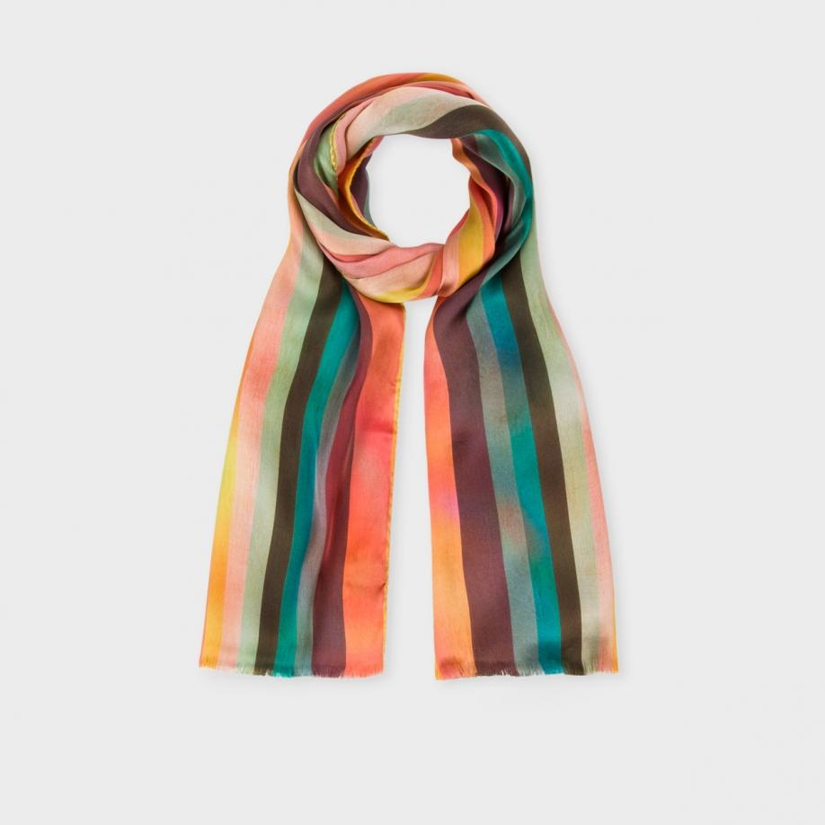 printed scarf - Multicolour Paul Smith