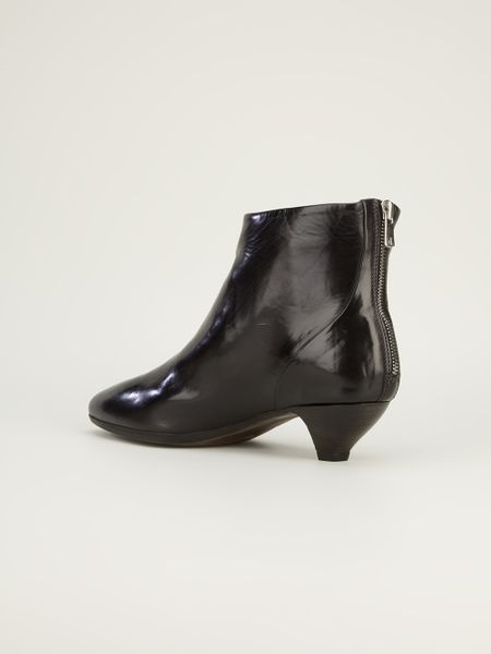 officine creative officine creative low heel ankle boot in