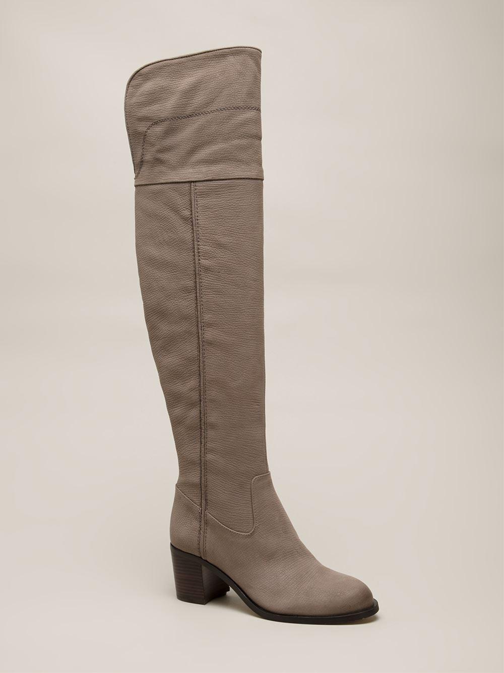 sam edelman joplin boots in gray lyst