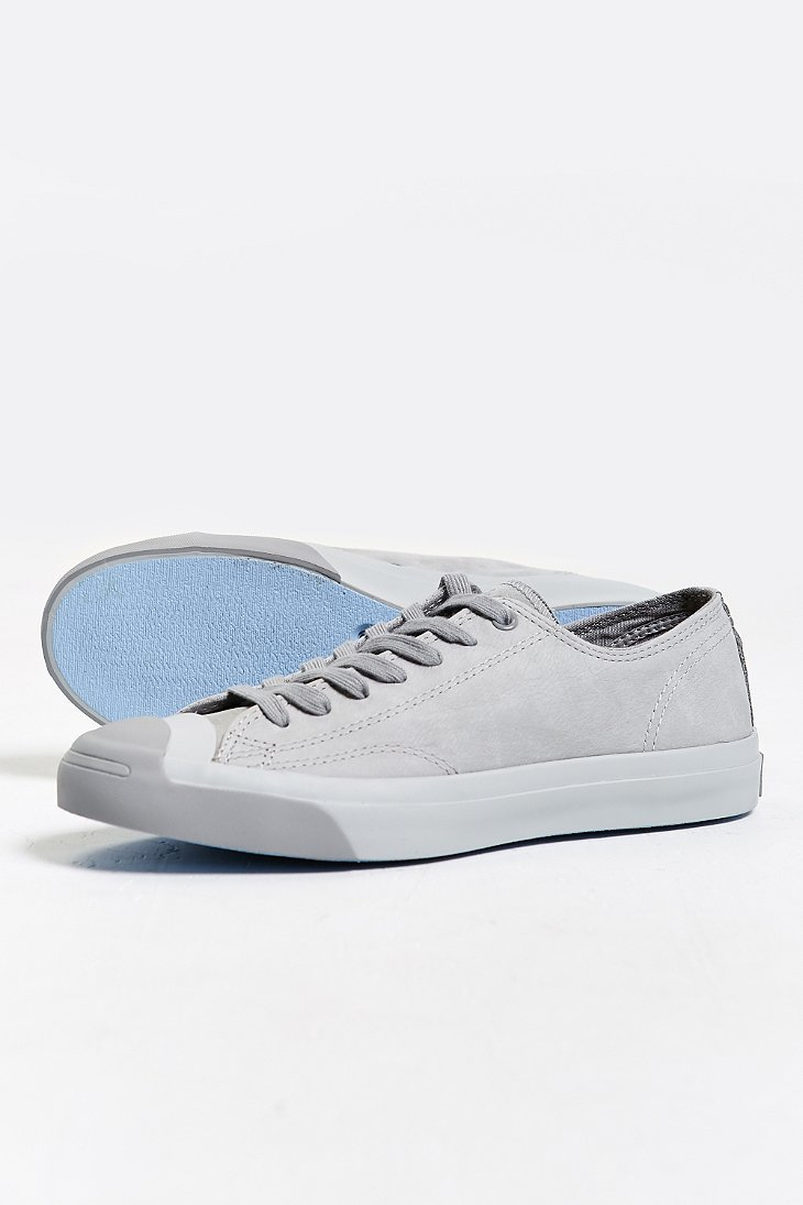 1075072f4c57 Lyst - Converse Jack Purcell Nubuck Low-top Sneaker in .