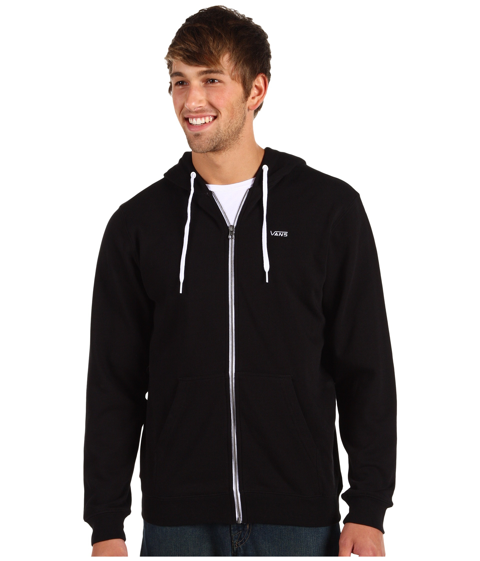 vans hoodie zip