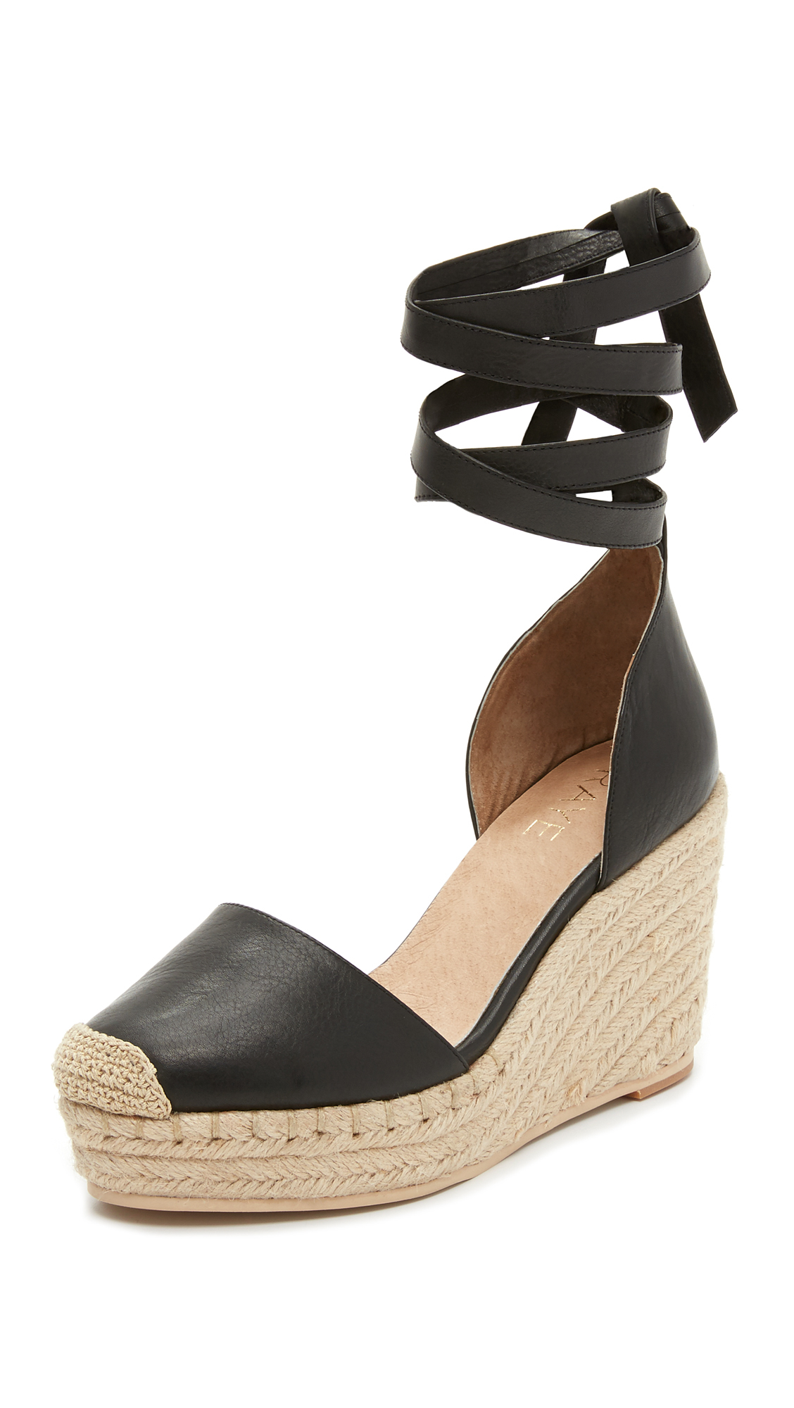 Lyst Raye Dhalia Wedge Espadrilles In Natural