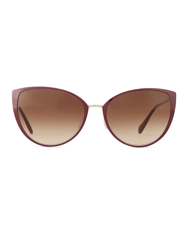 cat eye sunglasses - Brown Oliver Peoples WK89fmgGE