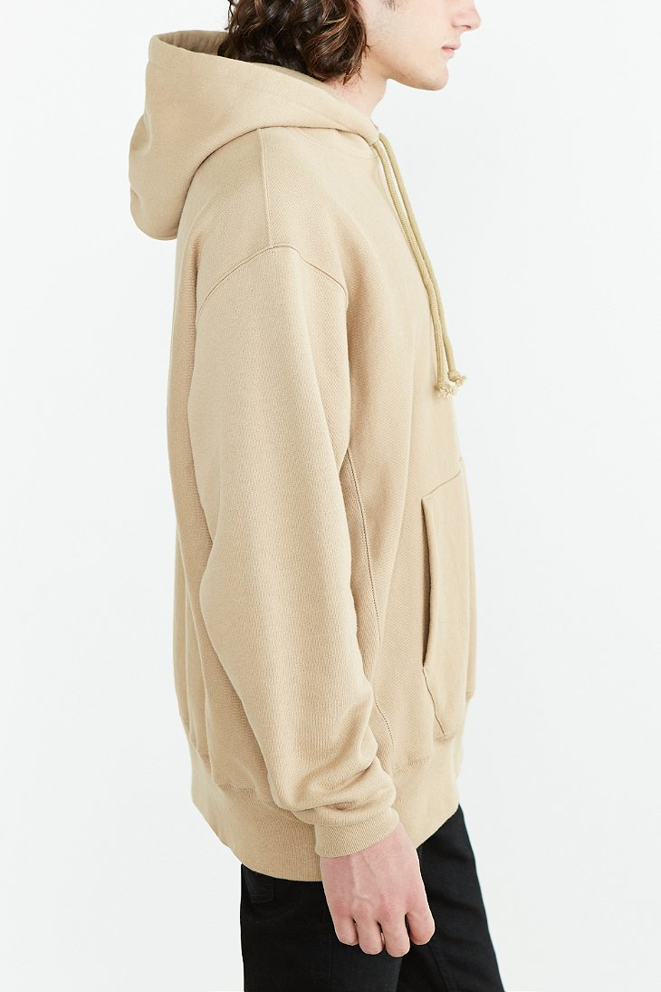 7c62ae5d2223 Champion Icon Reverse Weave Hoodie Sweatshirt in Natural for Men - Lyst