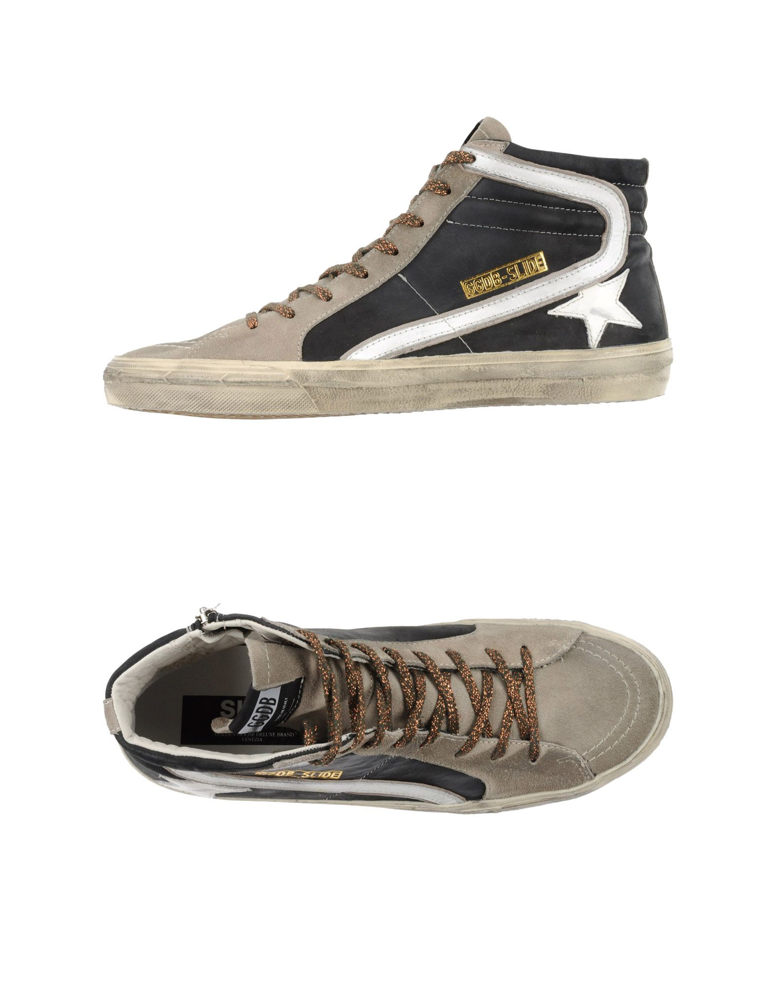golden goose deluxe brand high tops trainers for men lyst. Black Bedroom Furniture Sets. Home Design Ideas