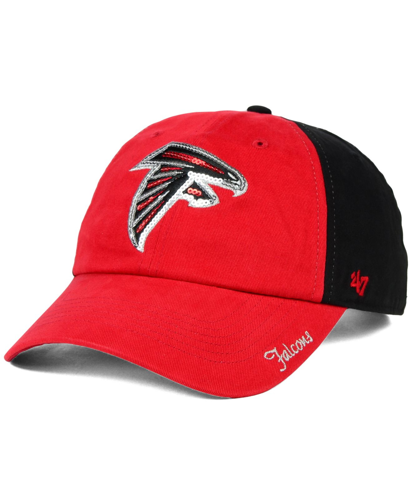 Women's Atlanta Falcons '47 Black Sparkle Knit Beanie