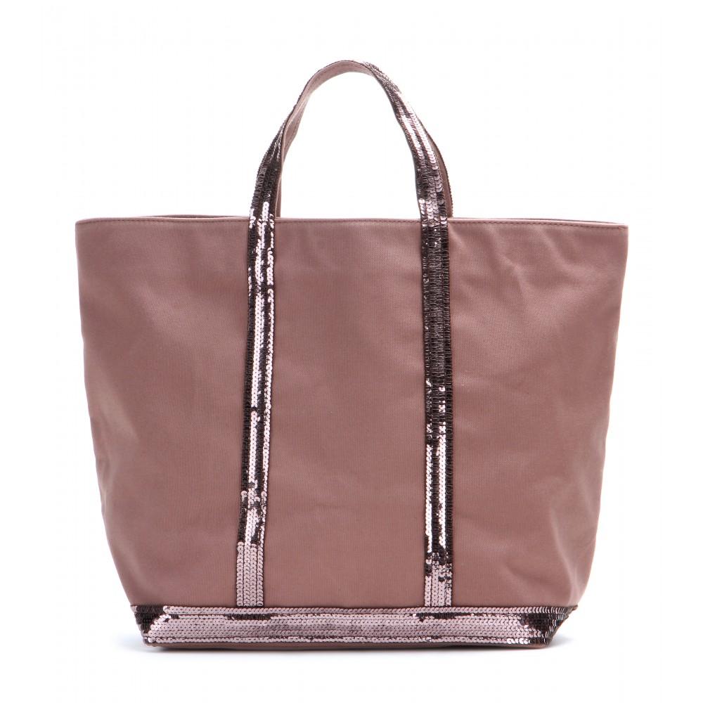 vanessa bruno cabas medium cotton shopper in pink lyst. Black Bedroom Furniture Sets. Home Design Ideas