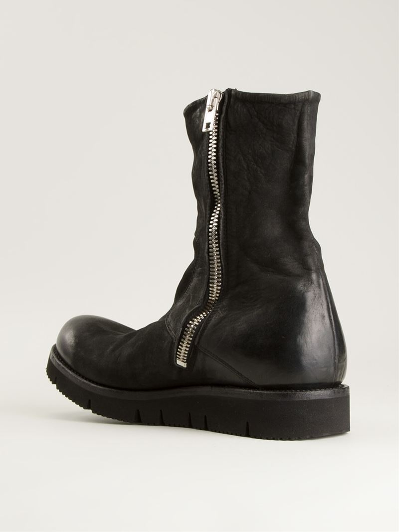 The Last ConspiracySUEDE BOOTS W/ FRONT ZIP XwWQ4
