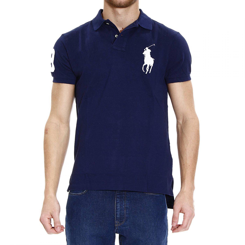 Lyst polo ralph lauren t shirt polo half sleeve big pony for Full sleeve polo t shirts