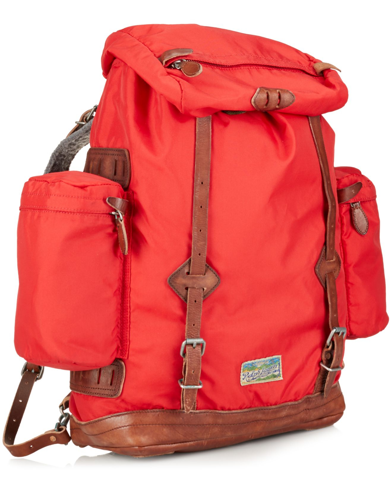 Lyst - Polo Ralph Lauren Camo Nylon Utility Backpack in Red for Men 3940790050653