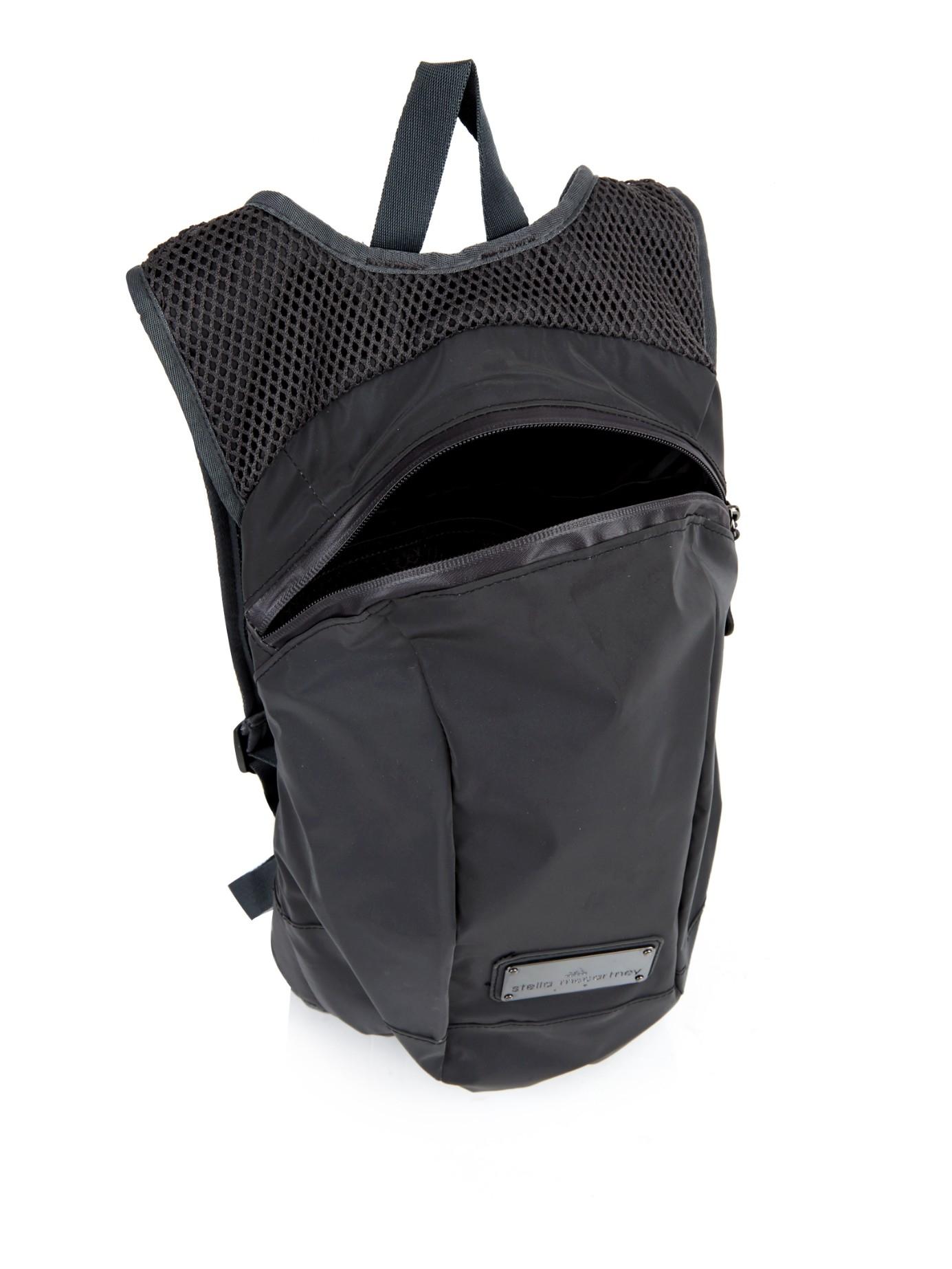 Adidas By Stella Mccartney Running Backpack In Black Lyst