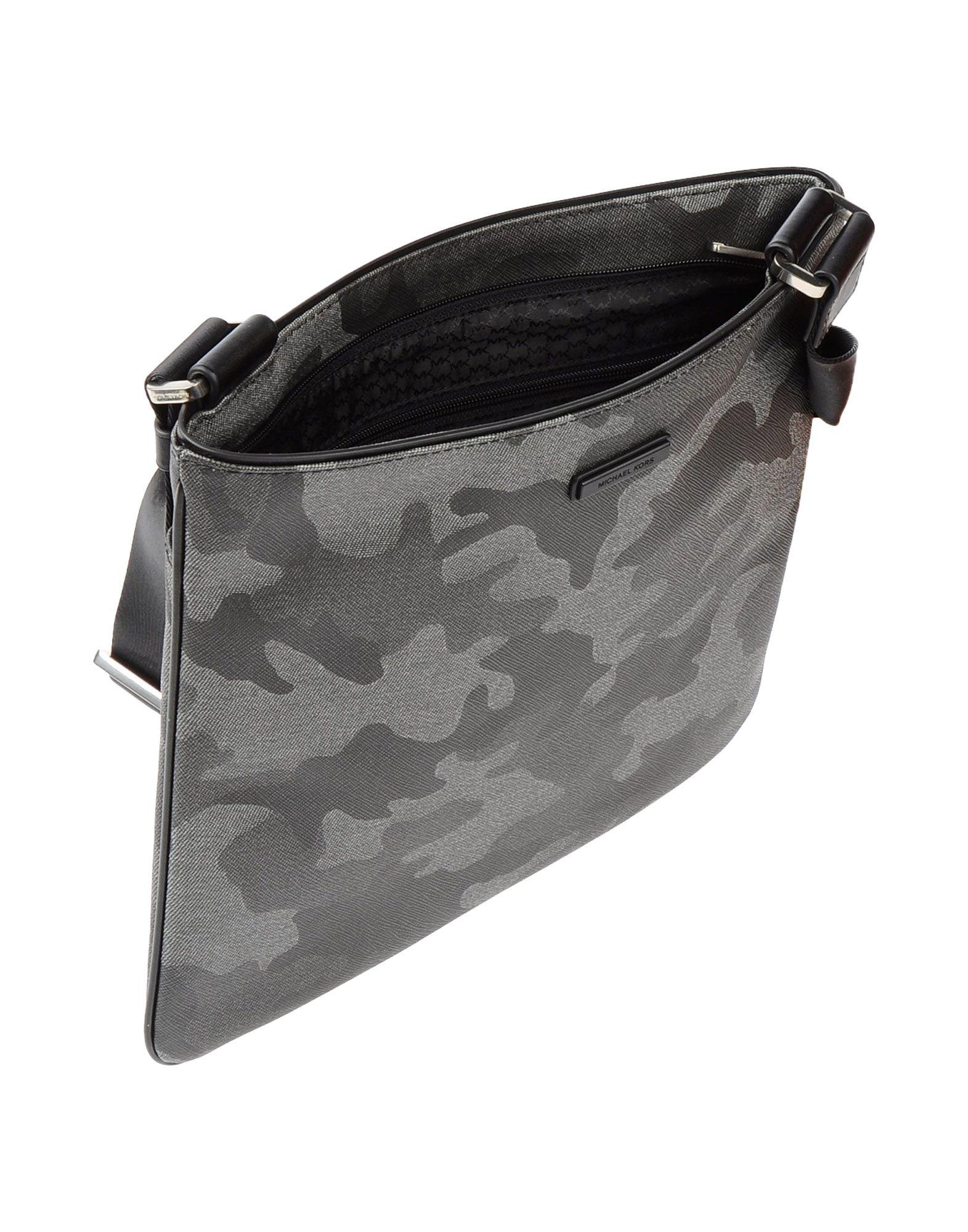 639b4b4cf8ce Lyst - Michael Kors Cross-body Bag in Gray for Men