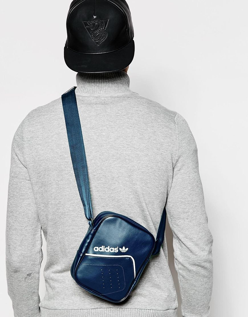 ee895dc64232 Lyst - adidas Originals Flight Bag Ab2842 in Blue for Men