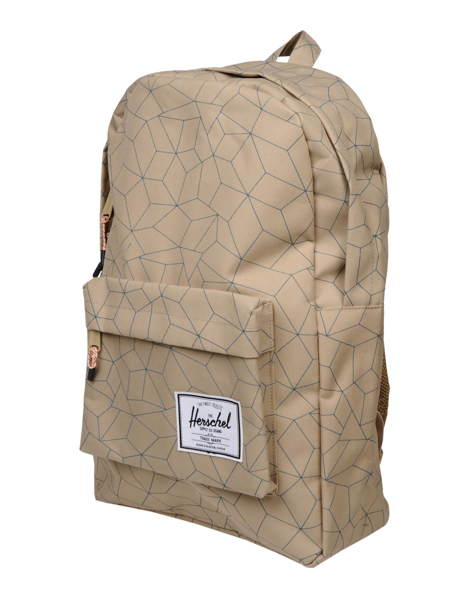 herschel supply co rucksacks bumbags in beige for men sand lyst. Black Bedroom Furniture Sets. Home Design Ideas