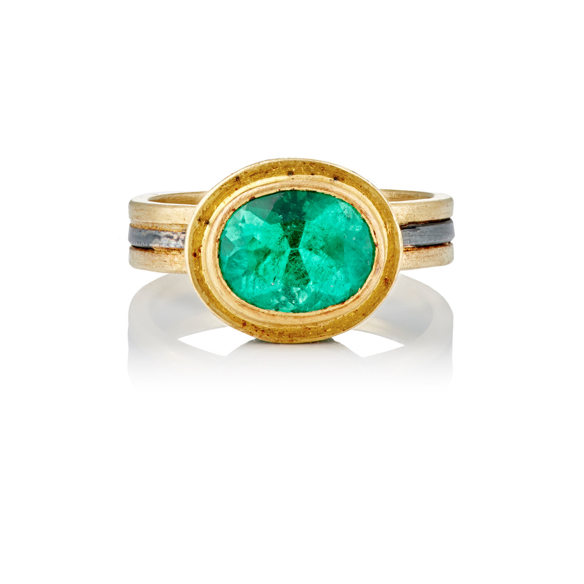 judy geib pave emerald ring in green lyst