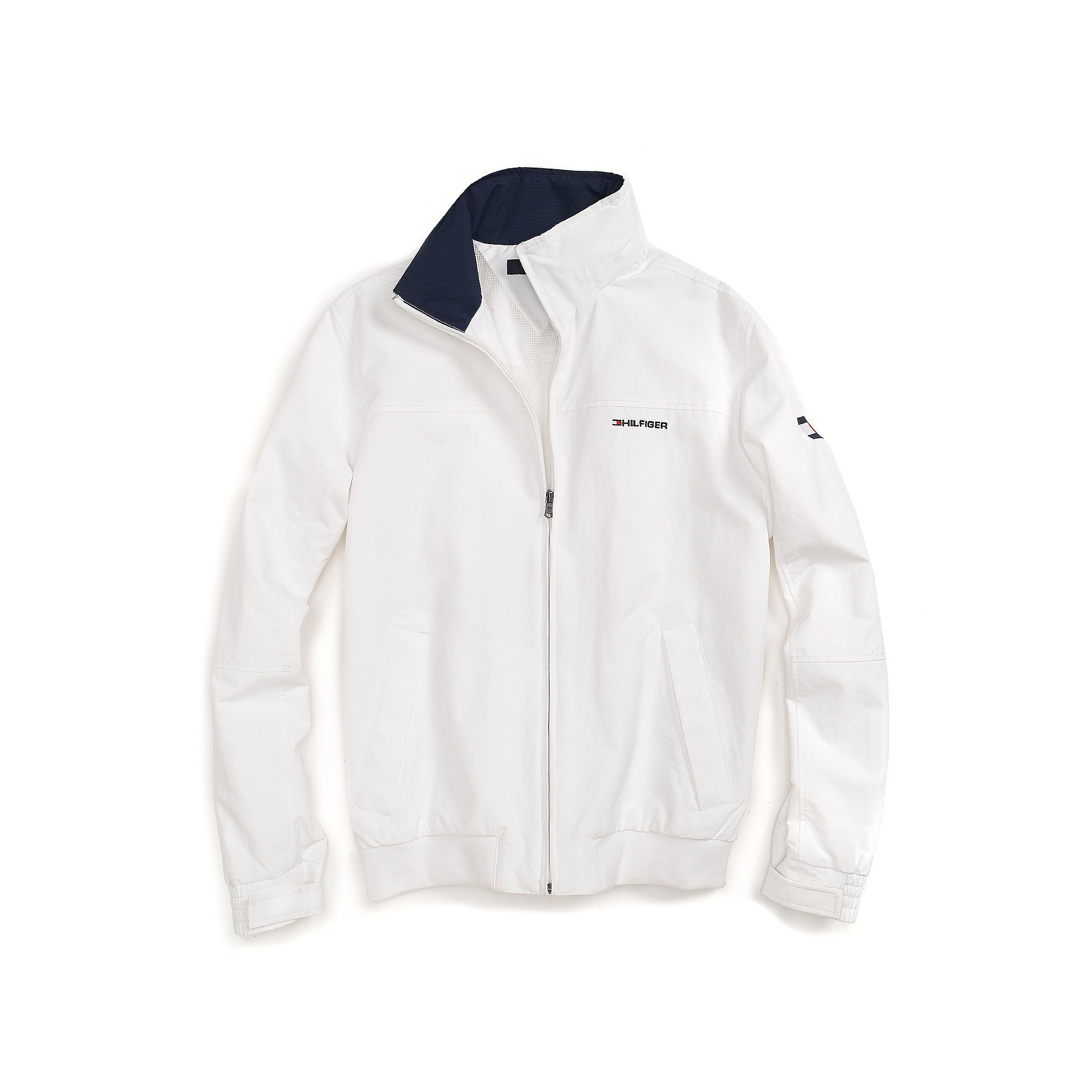 tommy hilfiger yacht jacket in white for men classic white lyst. Black Bedroom Furniture Sets. Home Design Ideas