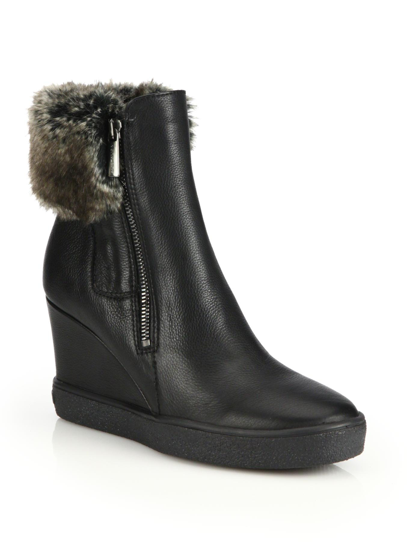 Find great deals on eBay for leather black wedge boots. Shop with confidence.