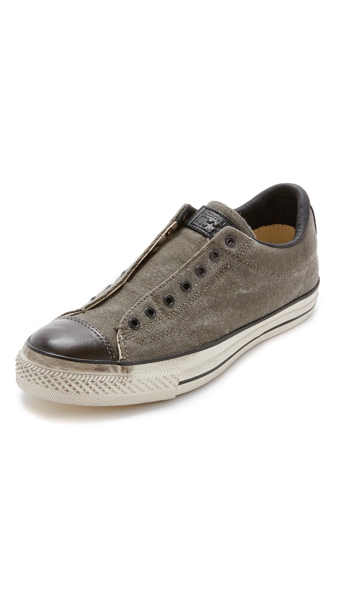 deccfdd0971315 Lyst - Converse Chuck Taylor All Star Vintage Slip On Sneakers in ...