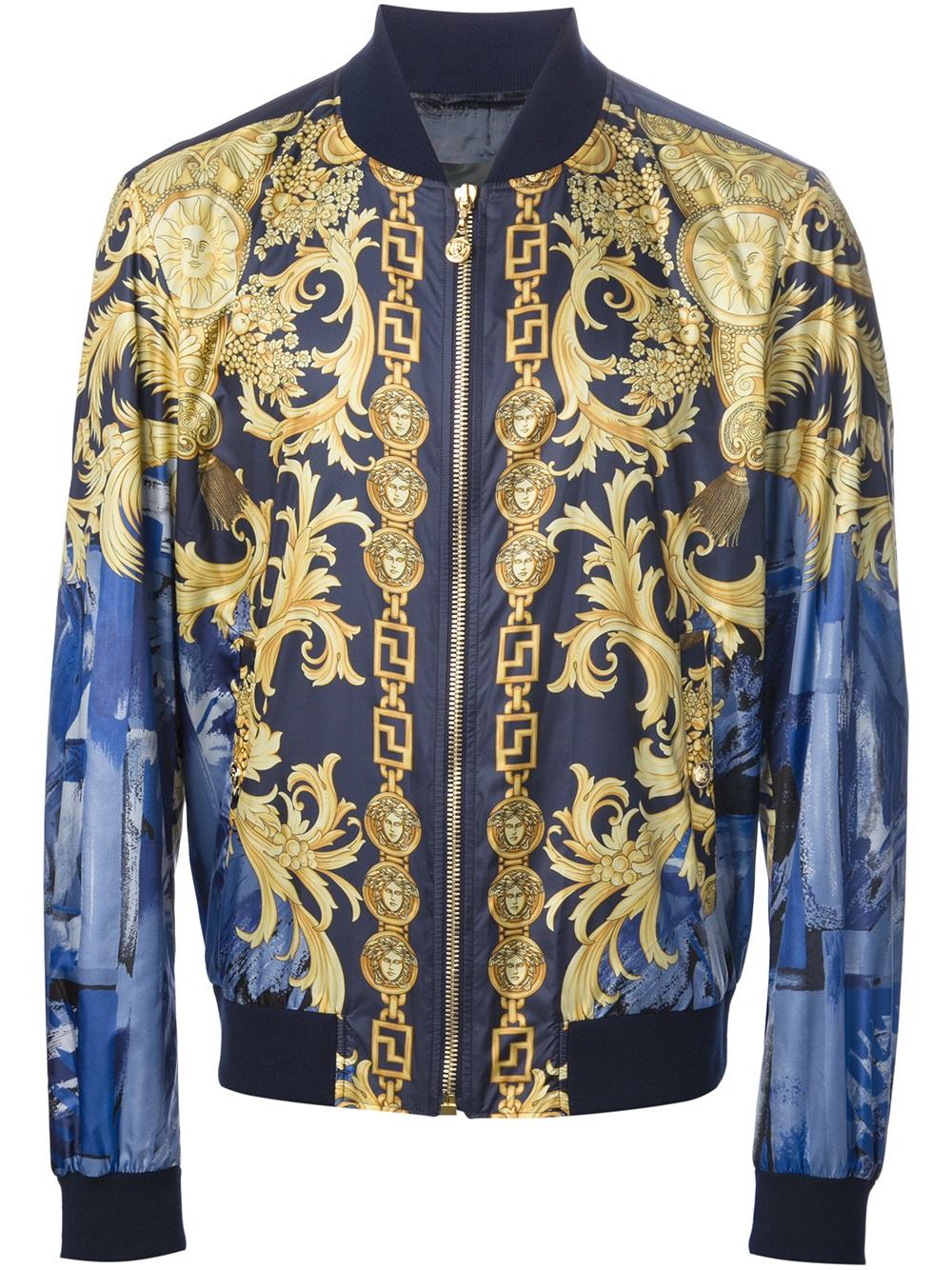 The Trueself Mens Versace Jacket H Amp M
