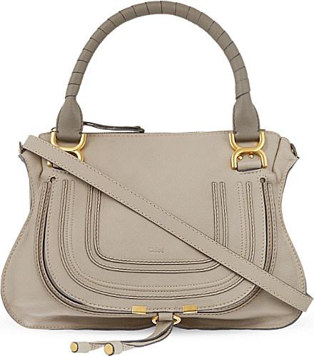 chloe marcie - medium leather crossbody bag