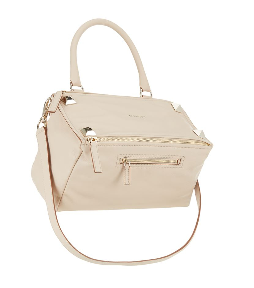 05bf74fc19 Givenchy Medium Stud Pandora Bag in Natural - Lyst