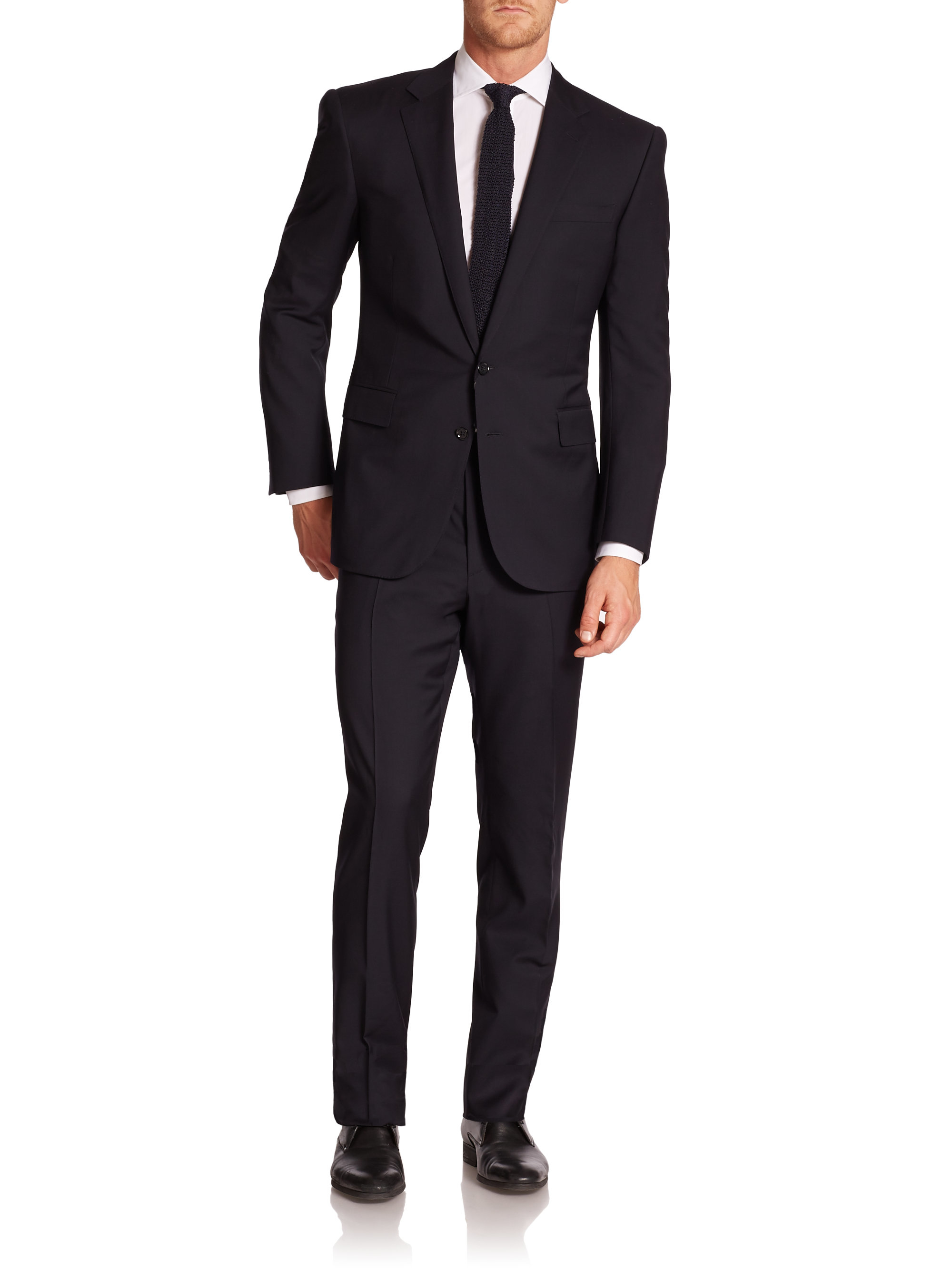 It's just a picture of Crush The Black Label Suits