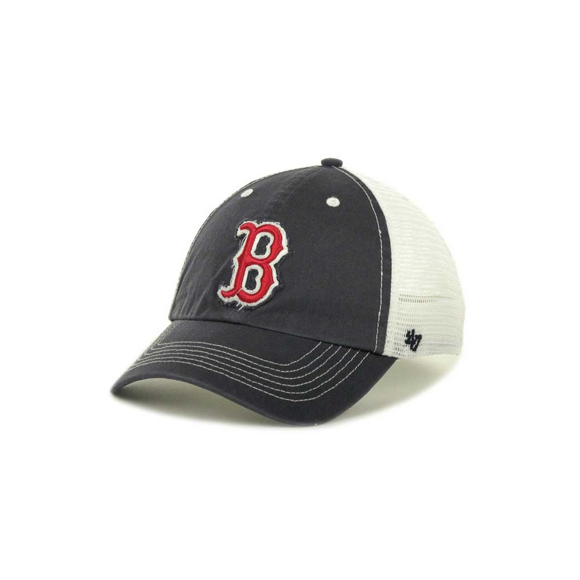 low priced 6c4e7 3c6f9 ... low cost lyst 47 brand boston red sox blue mountain franchise cap in  blue 977a0 a0262