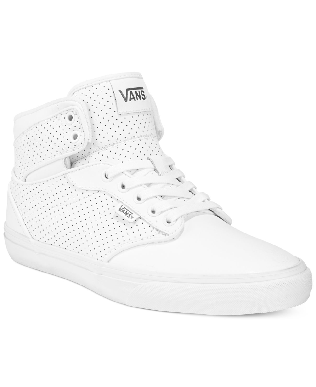 45e59758d9 Lyst - Vans Men s Atwood Hi-top Sneakers in White for Men