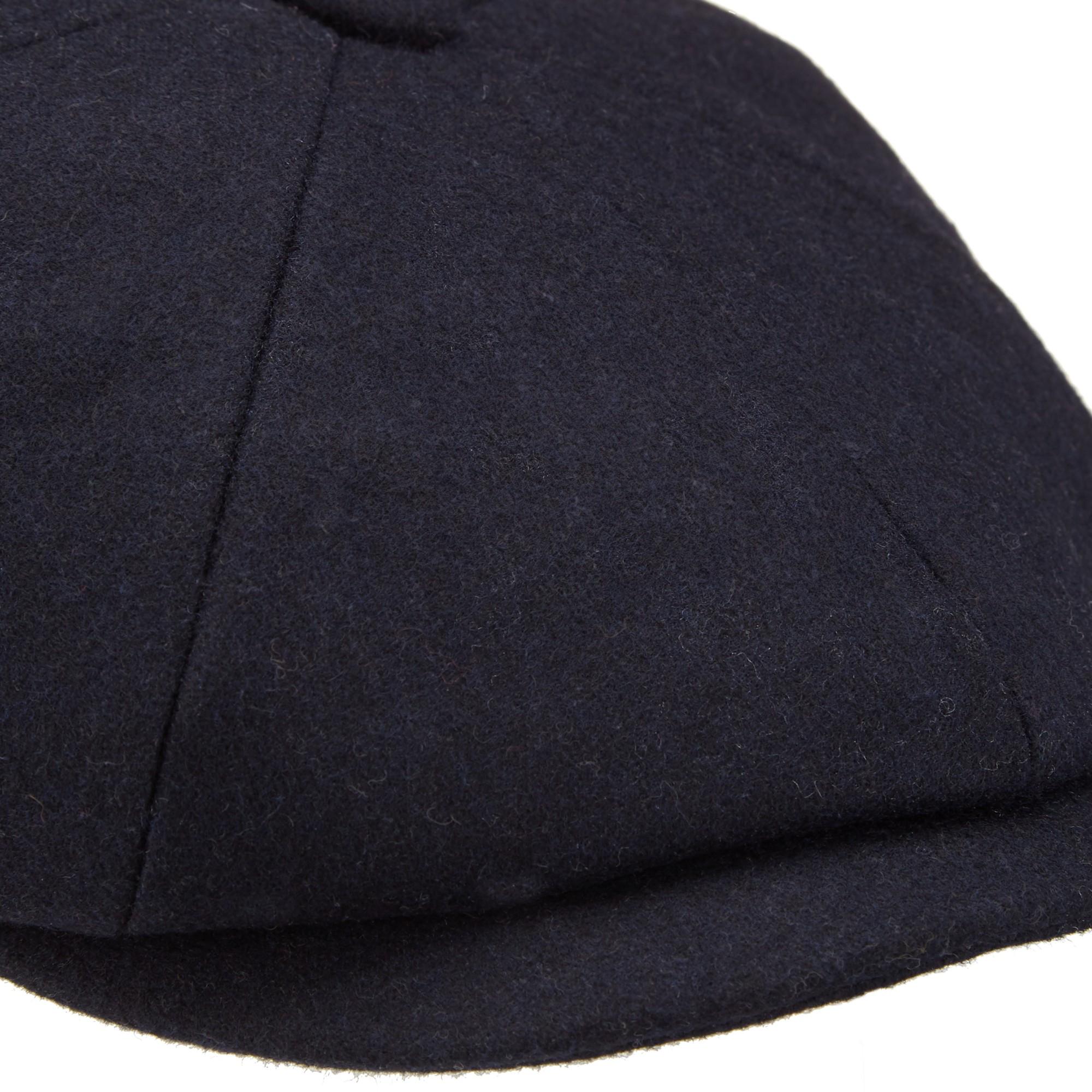 1a990594334 John Lewis Melton Baker Boy Hat in Blue for Men - Lyst