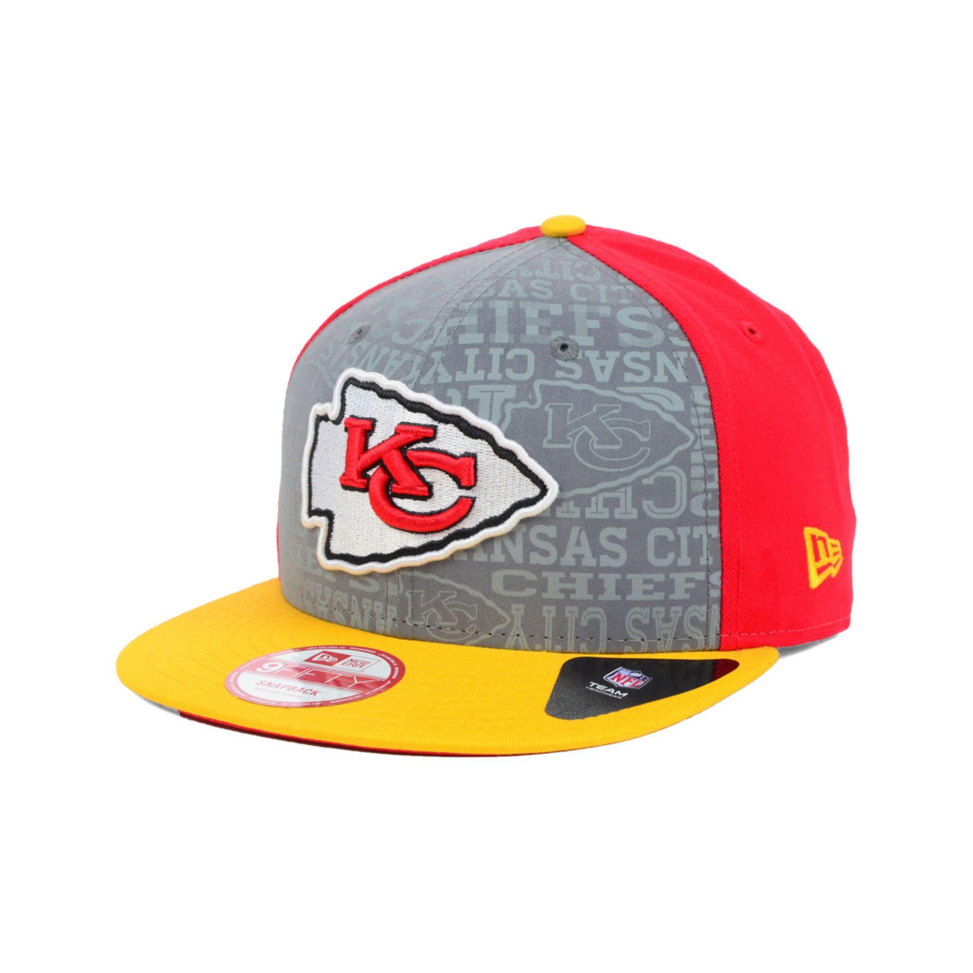 5cf444e6e Lyst - Ktz Kids Kansas City Chiefs Nfl Draft 9fifty Snapback Cap in ...