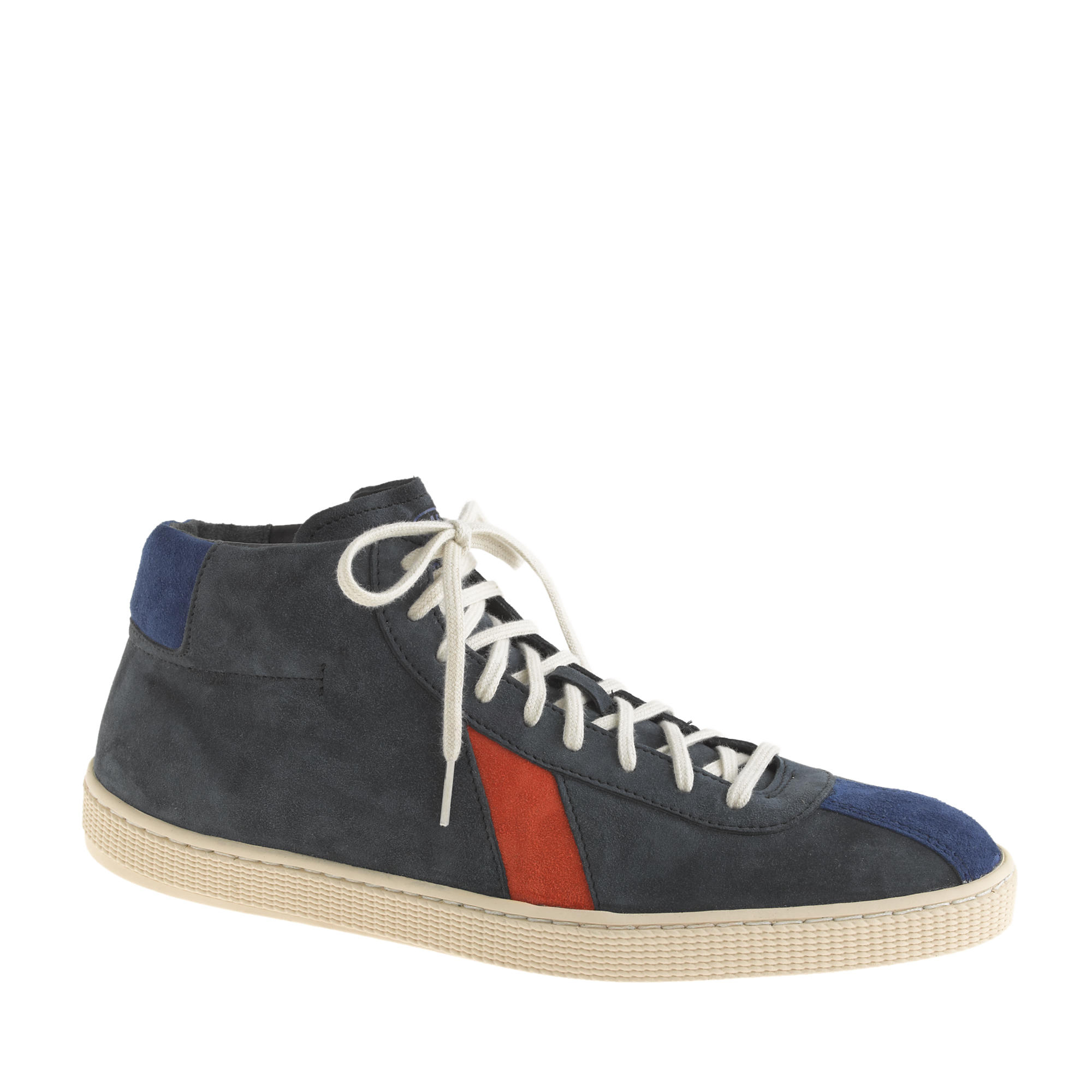 J.crew Men's Sawa Lishan High-top Sneakers in Blue for Men ...