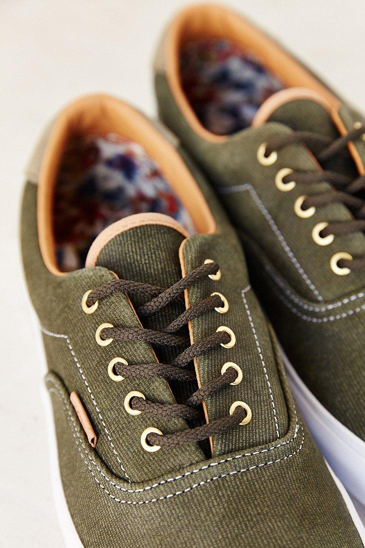 a1bac4e6cf Lyst - Vans Era 59 California Suede Denim Men S Sneaker in Green for Men