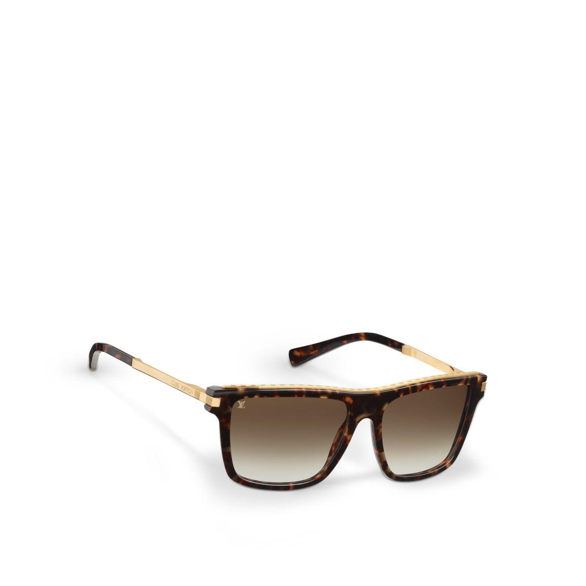 Louis Vuitton Perception Sunglasses  louis vuitton perception sunglasses in brown for men lyst