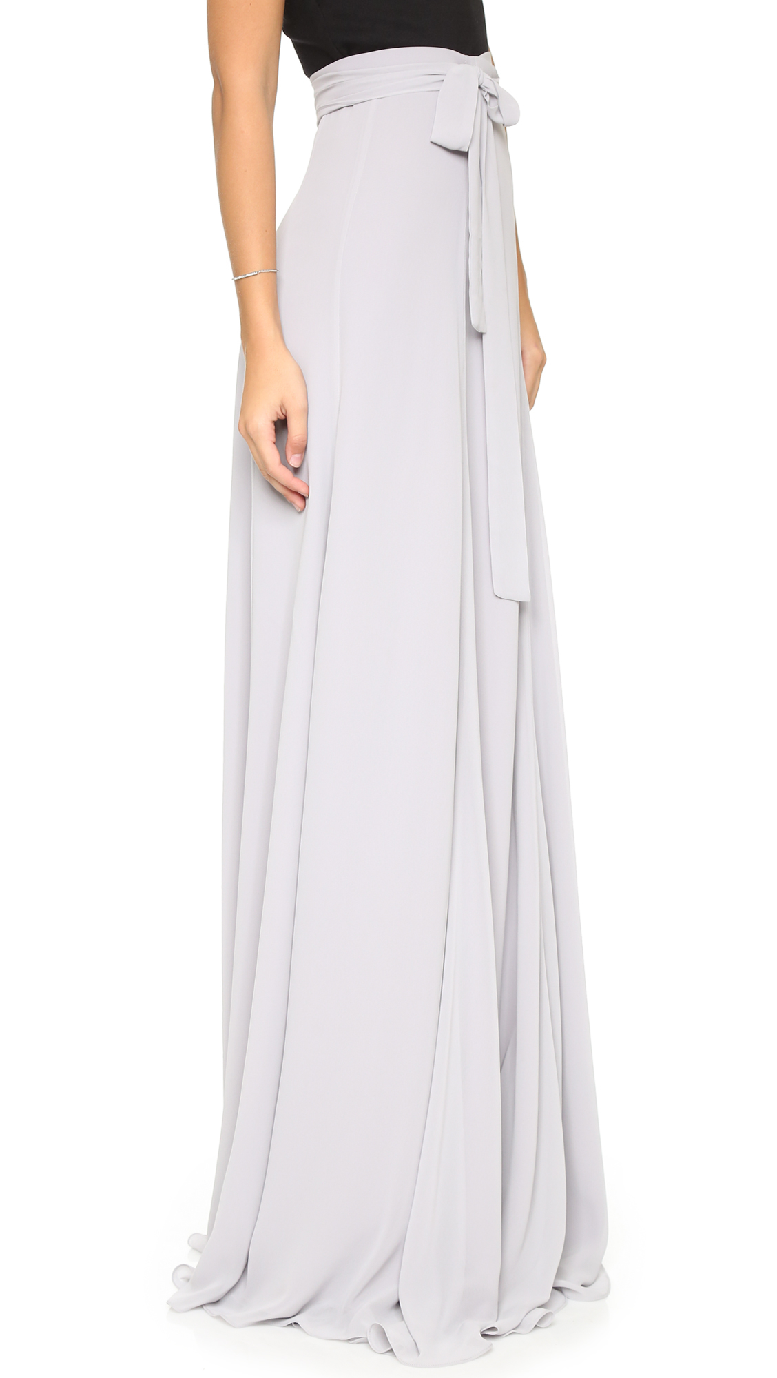 Joanna august Lilly Panel Wrap Maxi Skirt - Tiny Dancer in ...