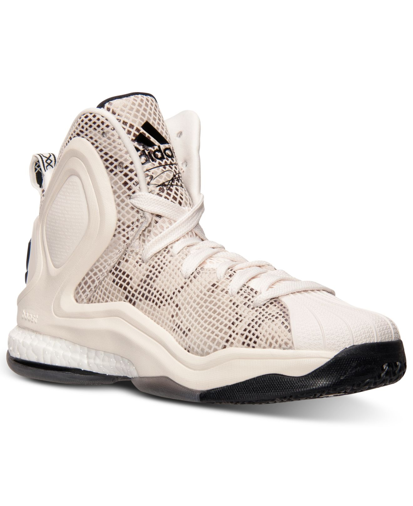402bbd887be4 Lyst - adidas Men S D Rose 5 Boost Basketball Sneakers From Finish ...